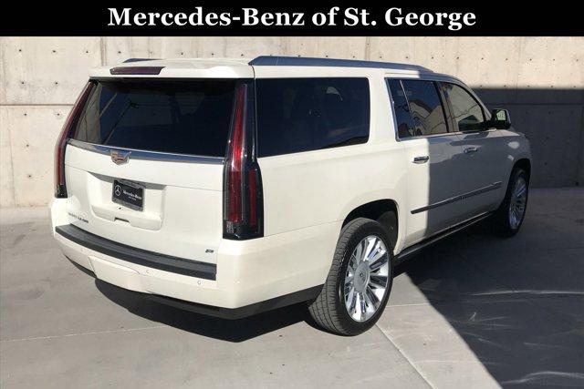 Used 2015 Cadillac Escalade ESV 4WD 4dr Platinum