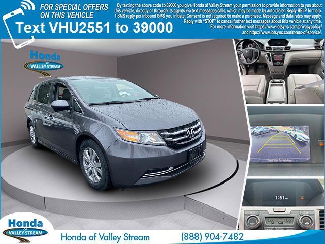 2017 Honda Odyssey EX-L  Regular Unleaded V-6 3.5 L/212 [0]