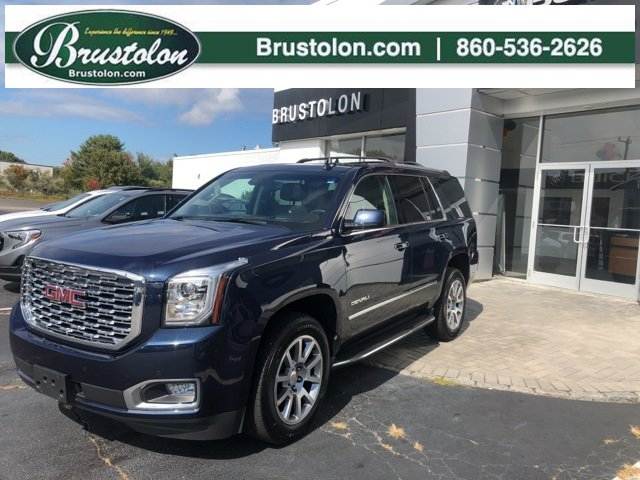 2018 GMC Yukon Denali COCOADARK ATMOSPHERE  PERFORATED LEATHER-APPOINTED SEAT TRIM  Interior colo
