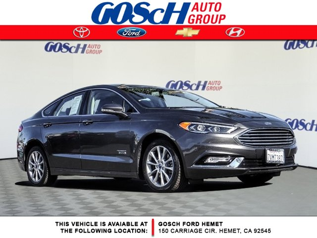 Used 2017 Ford Fusion Energi in Hemet, CA