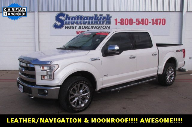 Used 2015 Ford F-150 in West Burlington, IA