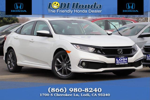 New 2020 Honda Civic Sedan in Lodi, CA