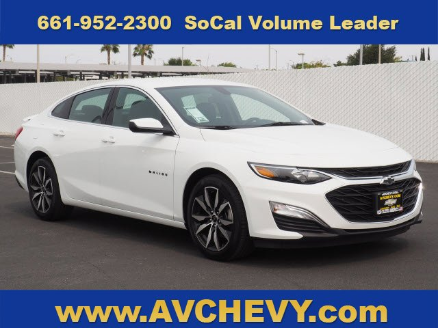 2020 Chevrolet Malibu RS 4dr Sdn RS Turbocharged Gas I4 1.5L/91 [18]
