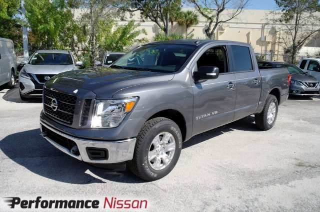New 2019 Nissan Titan in Pompano Beach, FL
