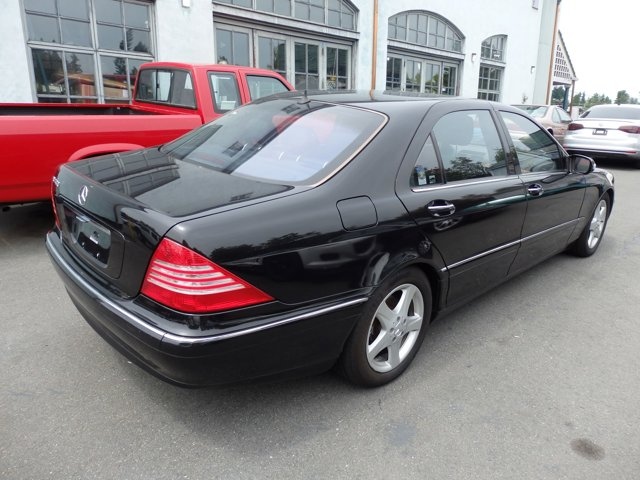 Used 2004 Mercedes-Benz S-Class 4dr Sdn 4.3L