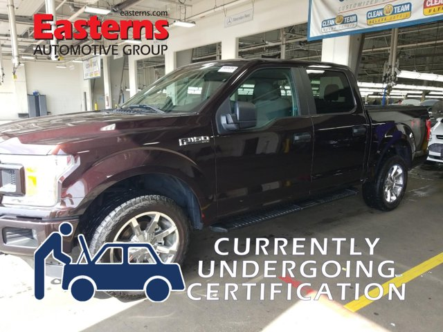 2018 Ford F-150 XL SXT Sport FX4 Off-Road Crew Cab Pickup
