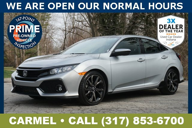 Used 2017 Honda Civic Hatchback in Indianapolis, IN