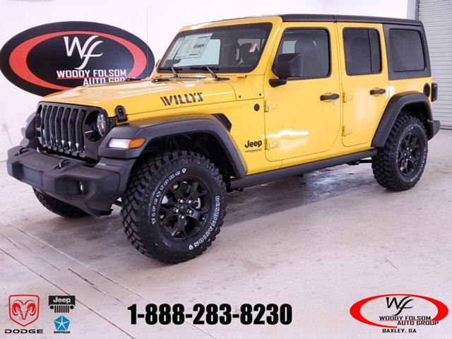 New 2020 Jeep Wrangler Unlimited in Baxley, GA