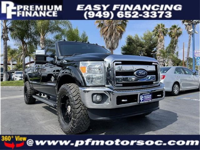 2011 Ford Super Duty F-250 SRW LARIAT FX4 4X4 BACK UP CAM LEATHER PACK CLEAN