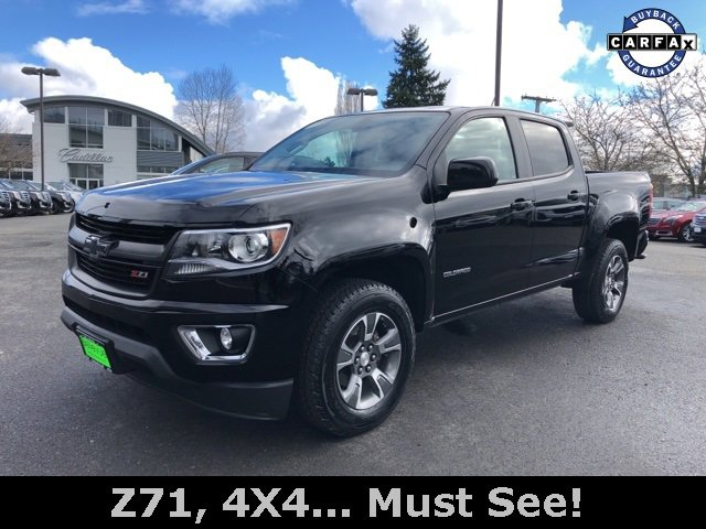 2016 Chevrolet Colorado 4WD Crew Cab 128.3 Z71