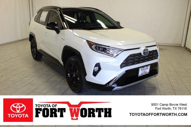 New 2020 Toyota RAV4 Hybrid in Fort Worth, TX