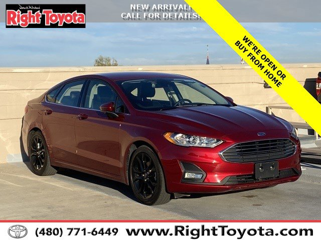 2019 Ford Fusion SE SE FWD Intercooled Turbo Regular Unleaded I-4 1.5 L/91 [24]