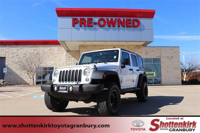 Used 2017 Jeep Wrangler Unlimited in Granbury, TX