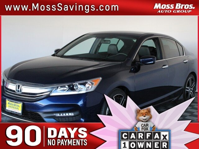 2017 Honda Accord Sedan Sport Sport CVT Regular Unleaded I-4 2.4 L/144 [6]
