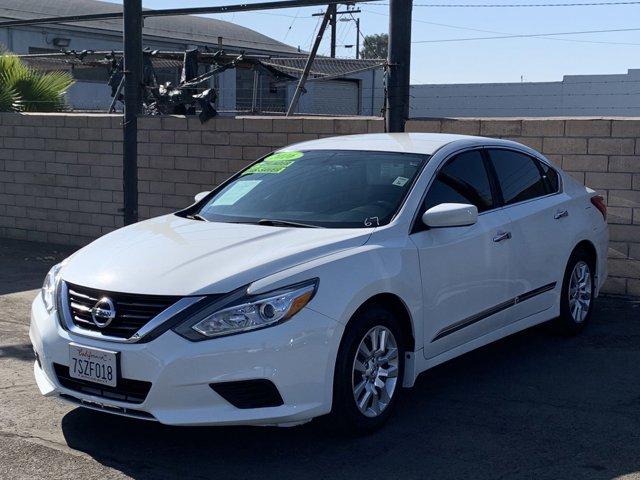 2016 Nissan Altima 4D Sedan 4-Cyl 2.5L