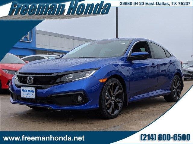 New 2020 Honda Civic Sedan in Dallas, TX
