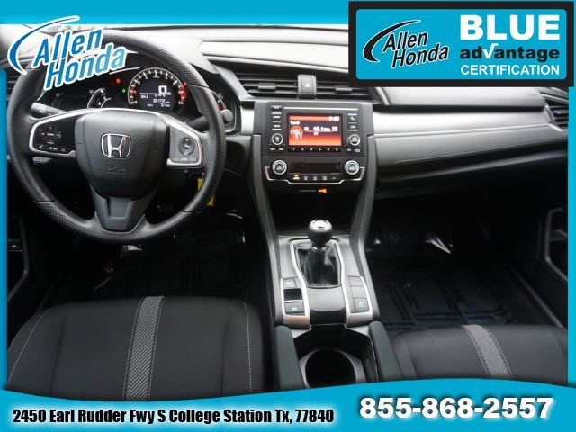 Used 2018 Honda Civic Sedan in College Station, TX