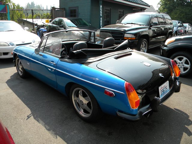 Used 1974 MG B MGB Roadster Custom V8