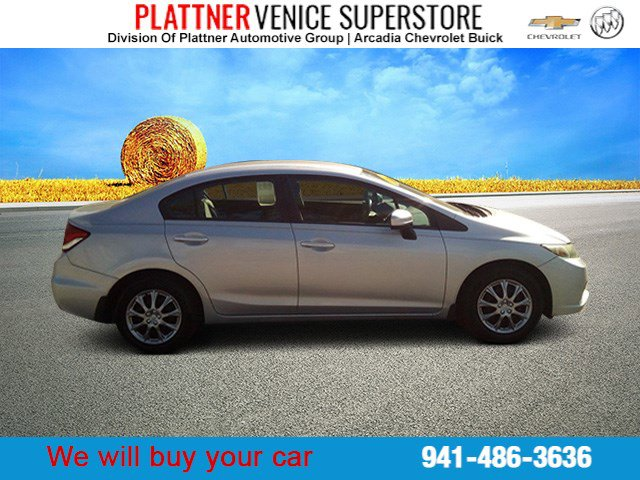 Used 2014 Honda Civic Sedan in Venice, FL