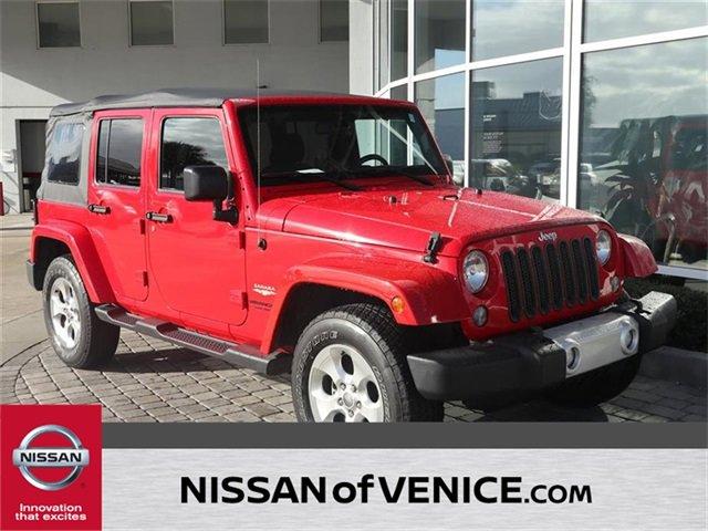 2015 Jeep Wrangler Unlimited Unlimited Sahara