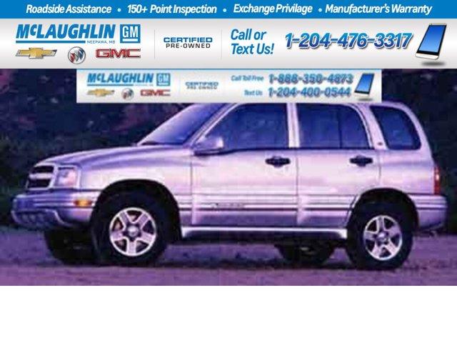 2002 Chevrolet Tracker Base 4dr Hardtop 4WD Gas L4 2.0L/122 [17]