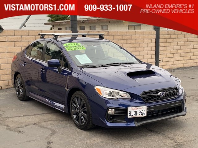 2018 Subaru WRX 4D Sedan 4-Cyl Turbo 2.0L Manual, 6-Spd AWD