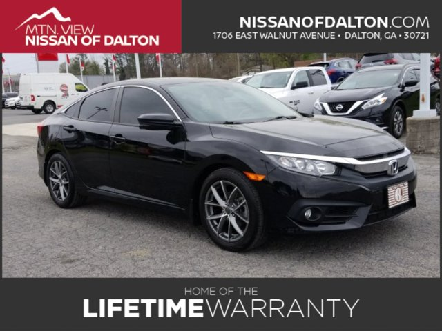 Used 2016 Honda Civic Sedan in Dalton, GA