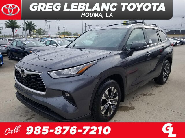 New 2020 Toyota Highlander in Houma, LA