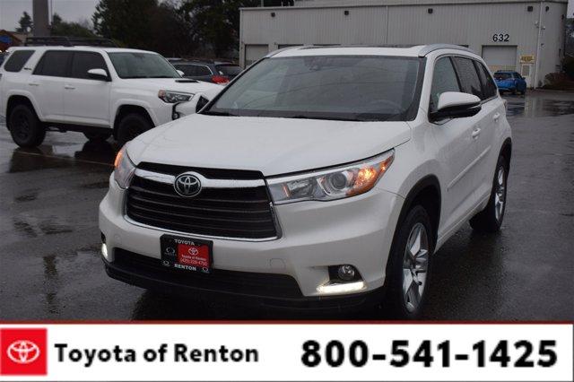Used 2016 Toyota Highlander in Renton, WA