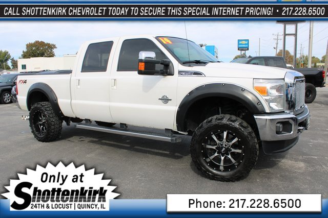 Used 2014 Ford Super Duty F-350 SRW in Quincy, IL