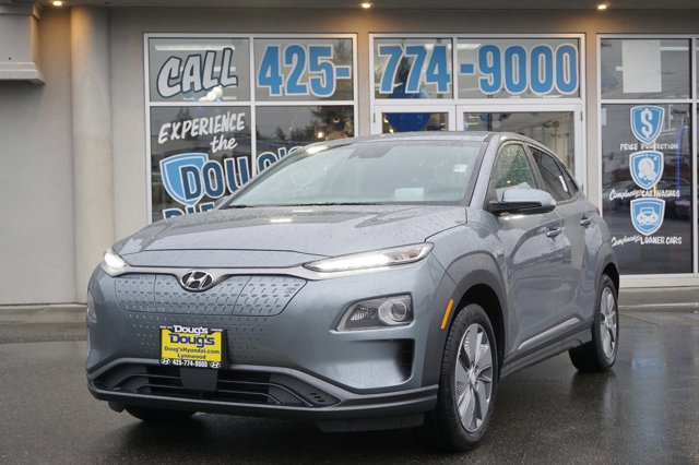 New 2020 Hyundai Kona EV in Lynnwood Seattle Kirkland Everett, WA