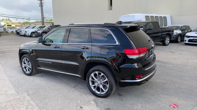 2019 Jeep Grand Cherokee Summit 4x2