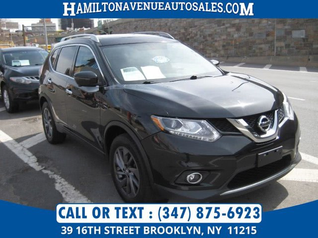 2016 Nissan Rogue AWD 4dr SL All Wheel Drive Power Steering ABS 4-Wheel Disc Brakes Brake Assis