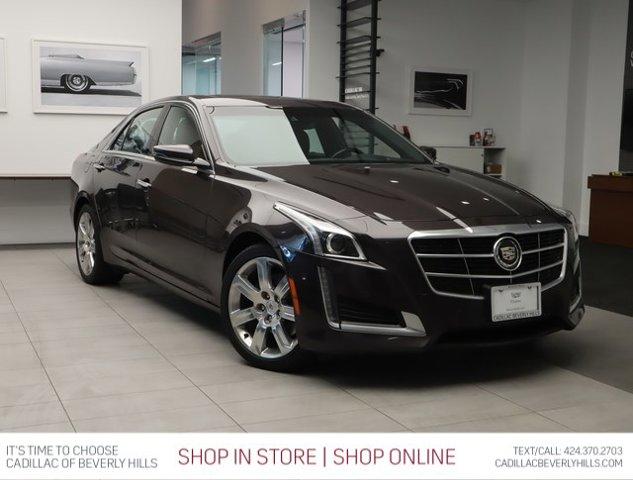 2014 Cadillac CTS Sedan Premium AWD 4dr Sdn 3.6L Premium AWD Gas/Ethanol V6 3.6L/220 [0]