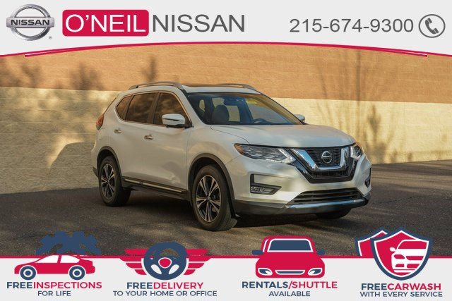 2018 Nissan Rogue SL AWD SL Regular Unleaded I-4 2.5 L/152 [2]
