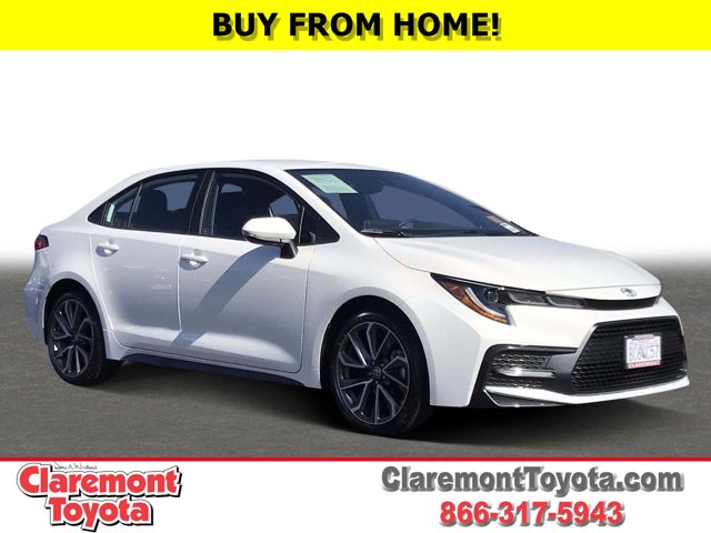 2021 Toyota Corolla SE SE CVT Regular Unleaded I-4 2.0 L/121 [0]