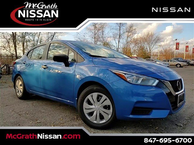 2020 Nissan Versa S S CVT Regular Unleaded I-4 1.6 L/98 [4]