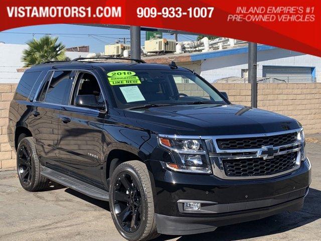 2018 Chevrolet Tahoe LT Luxury Pkg 4D Sport Utility V8 EcoTec3 5.3L