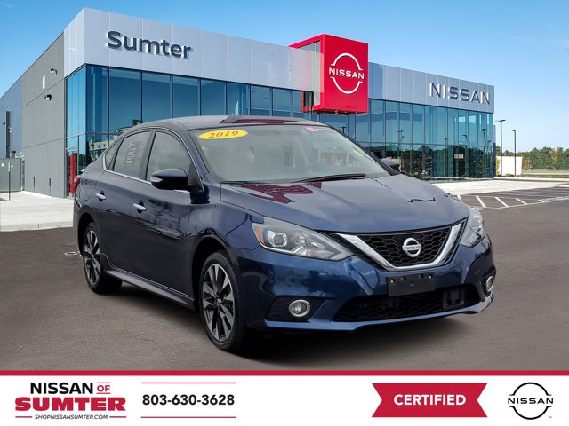 2019 Nissan Sentra SR SR CVT Regular Unleaded I-4 1.8 L/110 [8]