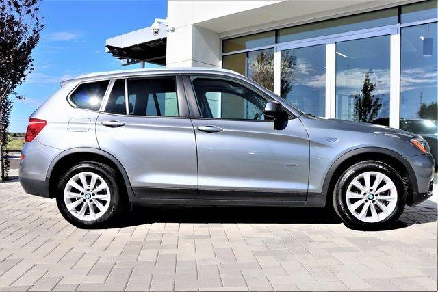 2016 BMW X3 sDrive28i RWD 4dr sDrive28i Intercooled Turbo Premium Unleaded I-4 2.0 L/122 [1]