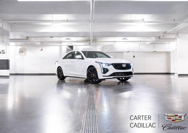 2020 Cadillac CT4 V-Series 4dr Sdn V-Series Turbocharged I4 2.7L/ [0]