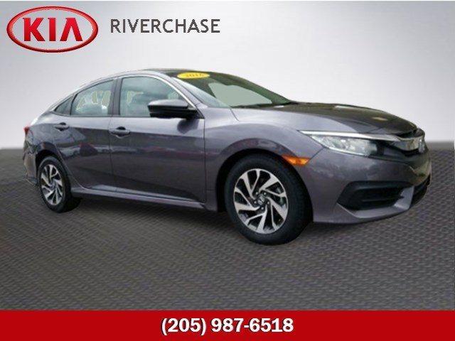 Used 2016 Honda Civic Sedan in Pelham, AL