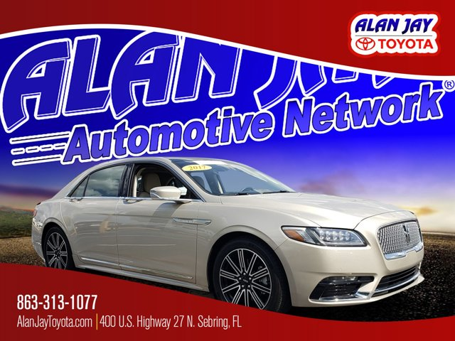 Used 2017 Lincoln Continental in Sebring, FL