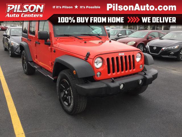 Used 2018 Jeep Wrangler JK Unlimited in Mattoon, IL