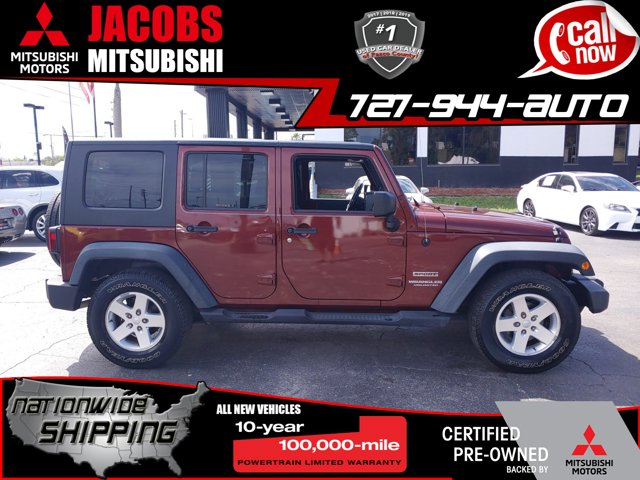 Used 2010 Jeep Wrangler Unlimited in New Port Richey, FL