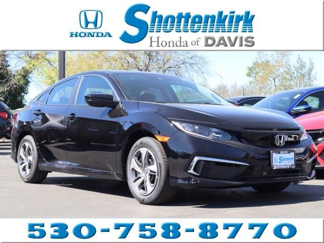 New 2020 Honda Civic Sedan in Davis, CA