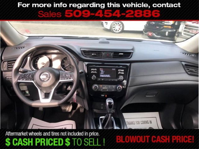 Used 2017 Nissan Rogue FWD S