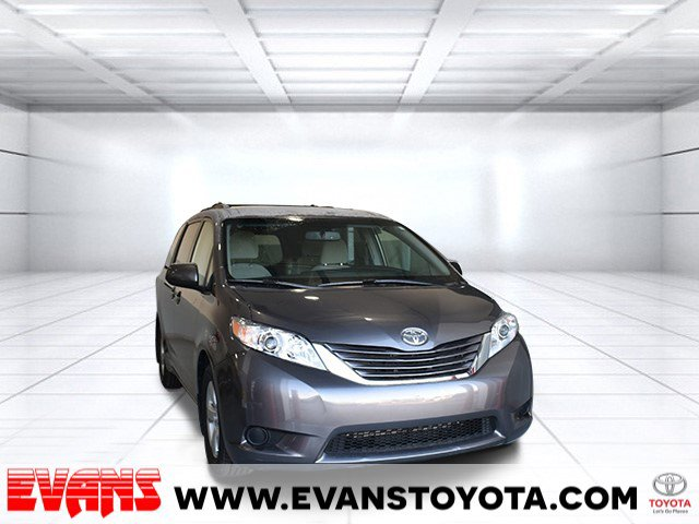 2017 Toyota Sienna LE Front Wheel Drive Power Steering ABS 4-Wheel Disc Brakes Brake Assist Al