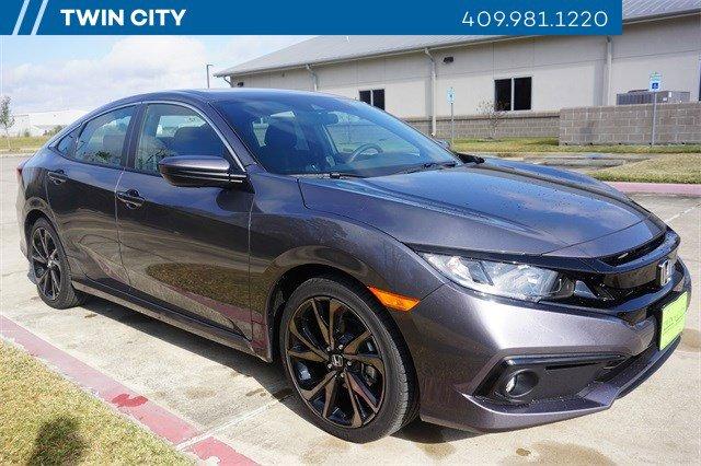 New 2020 Honda Civic Sedan in Port Arthur, TX