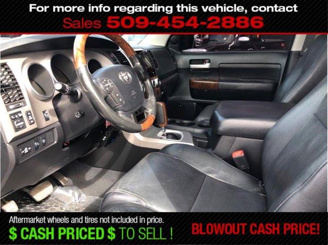 Used 2010 Toyota Tundra 4WD Truck CrewMax 5.7L V8 6-Spd AT LTD